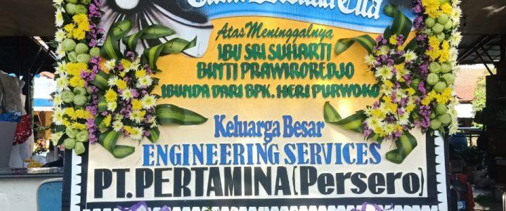 Toko Bunga di Rumah Duka Tiong Hoa Ie wan Semarang